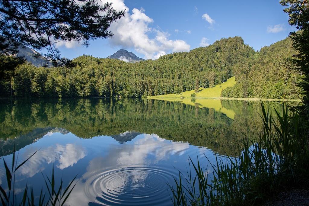 Der Alatsee bei Pfronten im Allgäu - @ Autor: Julian Knacker - © Quelle: Pfronten Tourismus