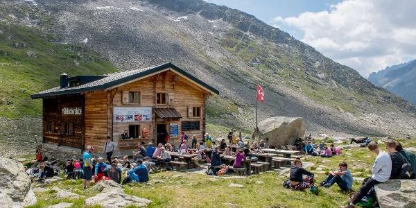 Berghütte Gletscherstube
