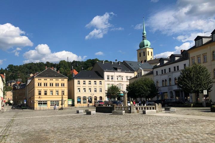 Foto Marktplatz Sebnitz