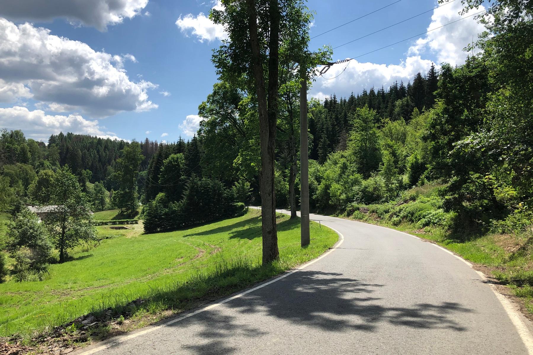 Weg von Saupsdorf nach Hinterhermsdorf