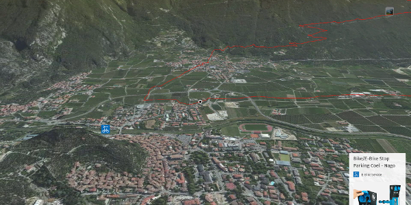 mountain biking trail at Lake Garda: 763. Monte Corno (All Mountain/Enduro)