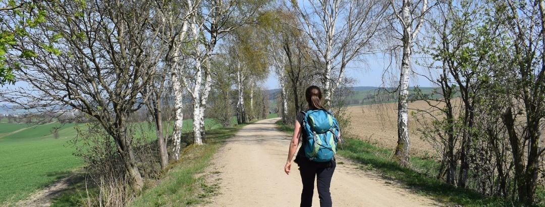 Wanderung Richtung Künhaide