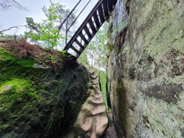 Foto Aufstieg auf den Arnstein
