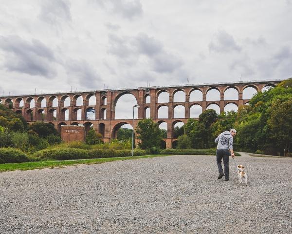 Urlaub mit Hund im Vogtland - Göltzschtalbrücke