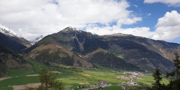 Ausblick ins Südtirol