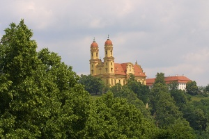 Wallfahrtskirche Schönenberg Fernansicht
