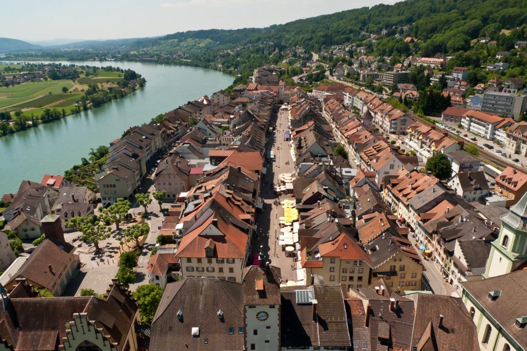 Waldshut und Rhein