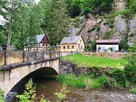 Foto Blick auf die Gaststätte an der Neumannmühle