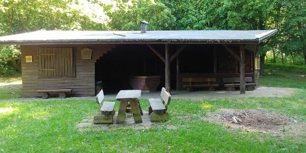 Grillhütte Obernfeld Vorderansicht