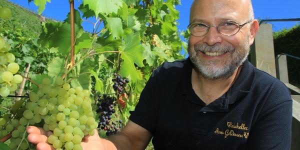 """Thomas Teubert vom Weinkeller """"Am Goldenen Wagen"""""""