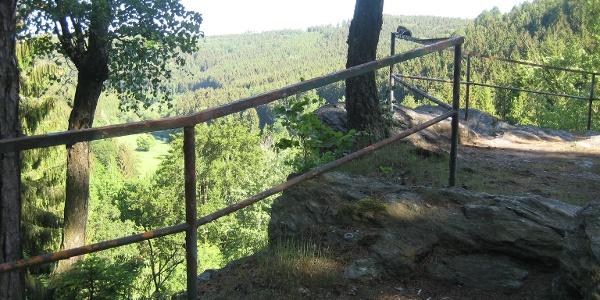 Ausblick vom Burgstein