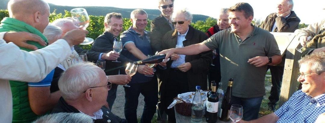 Weinprobe Gruppenprogramm