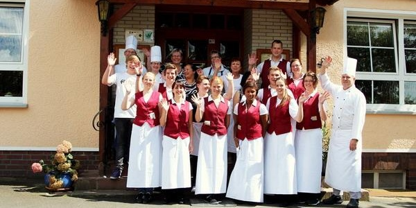 Gasthaus Zur Erholung - Begrüßung durch das Team
