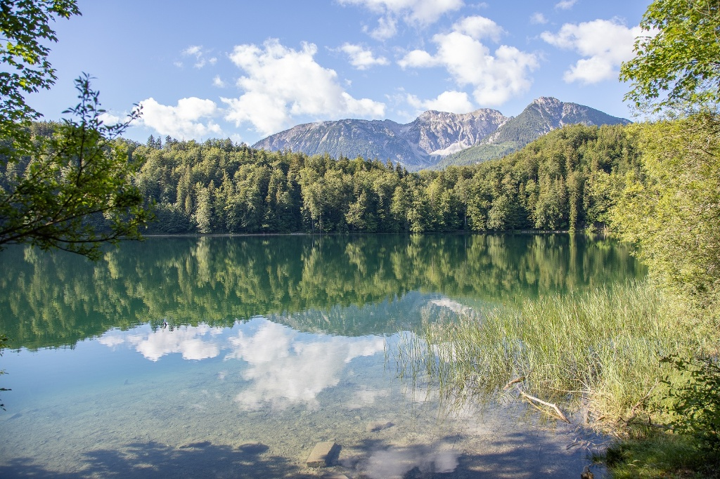Alatsee im Allgäu - @ Autor: Julian Knacker - © Quelle: Pfronten Tourismus