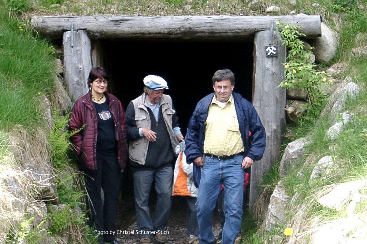 Eingang Stollen Friedrich-August-Grube