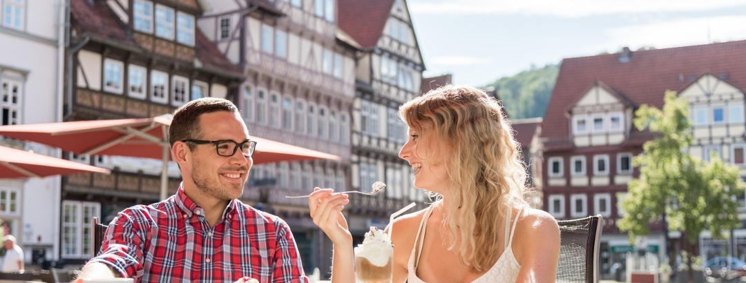 Kaffeepause in der Altstadt