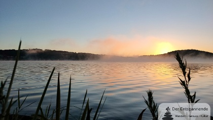 Sonnenaufgang am Bostalsee