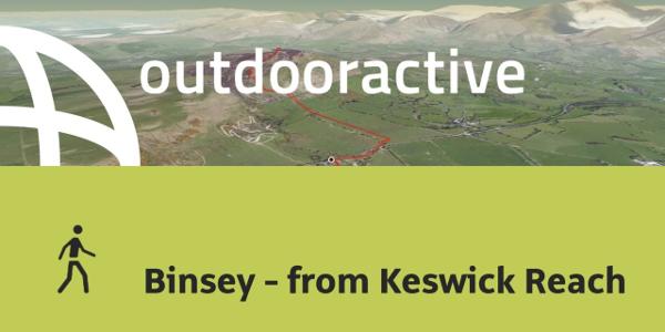 hike in Allerdale: Binsey - from Keswick Reach