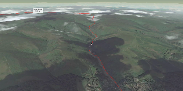 hike in Shropshire Hills: Carding Mill Valley and the Long Mynd Circular