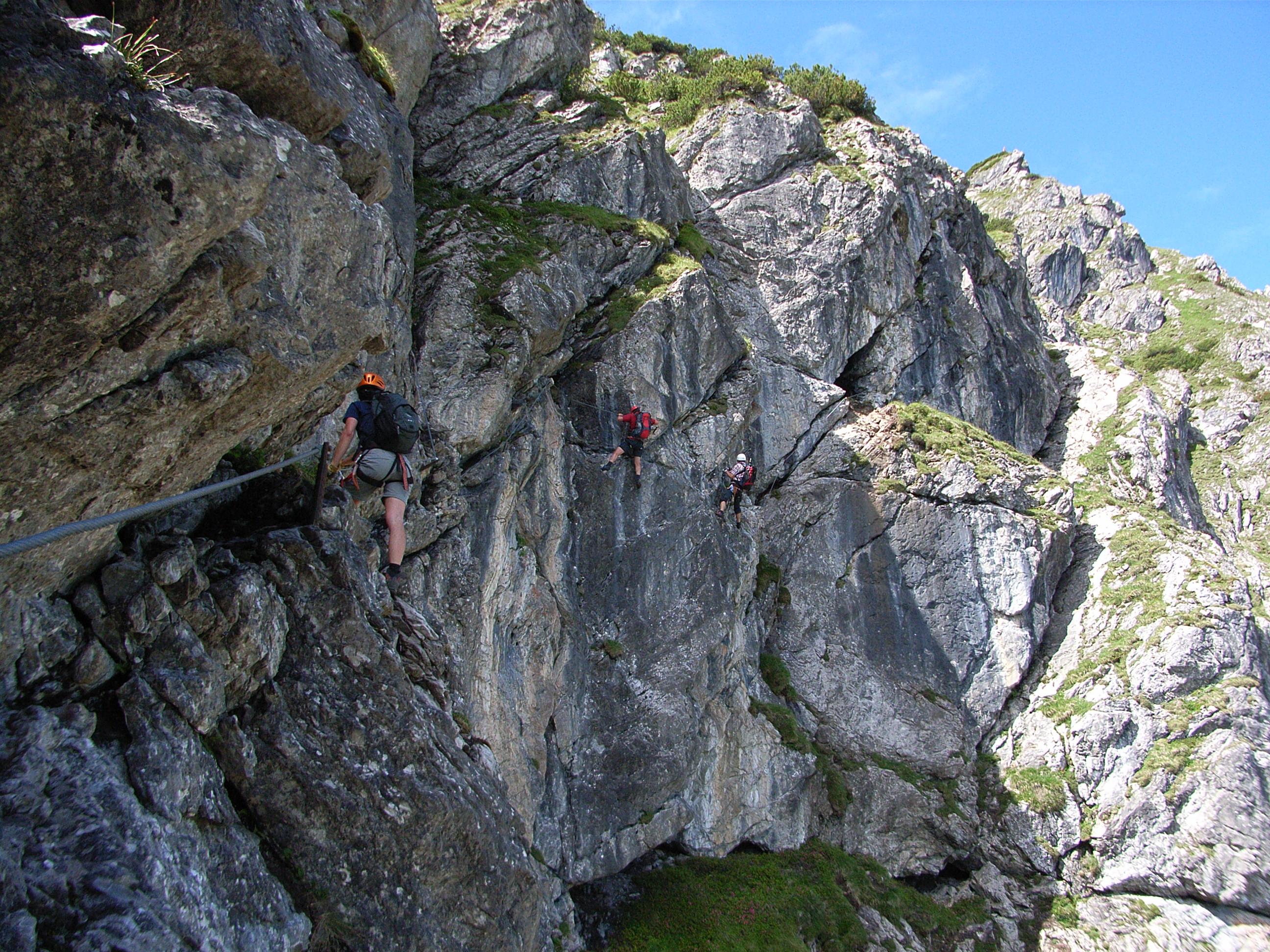 Klettersteig Kleinwalsertal : Die schönsten klettersteige im allgäu