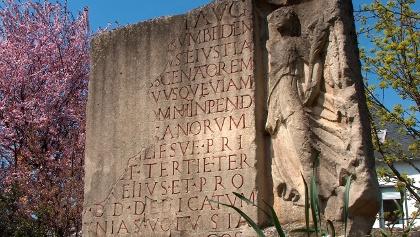 Römische Bauinschrift