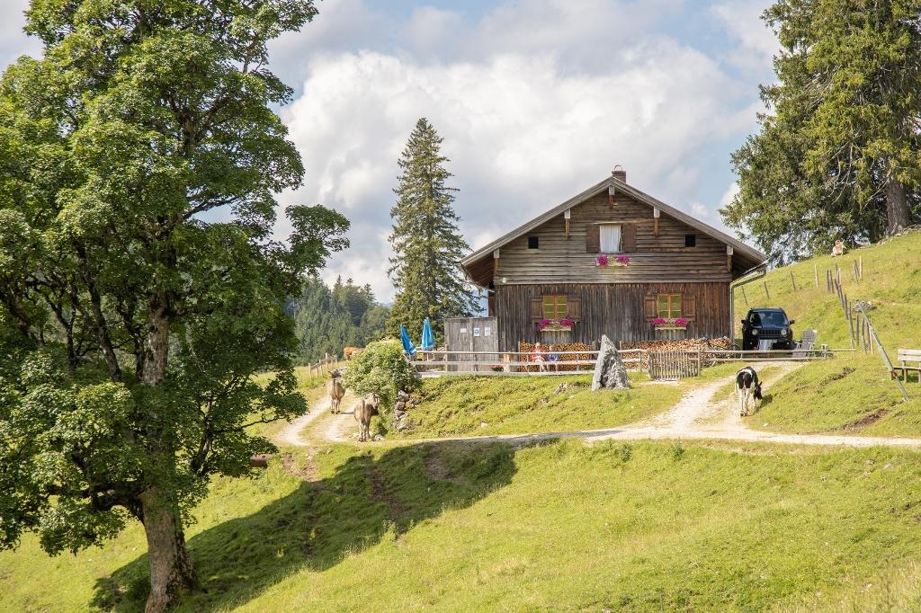 Bärenmoosalpe im Himmelreich am Kienberg - @ Autor: Julian Knacker - © Quelle: Pfronten Tourismus
