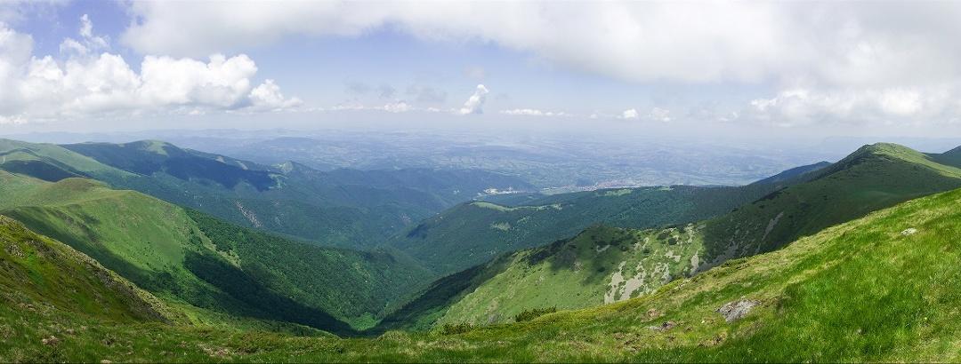 Gipfel Kom, Balkangebirge