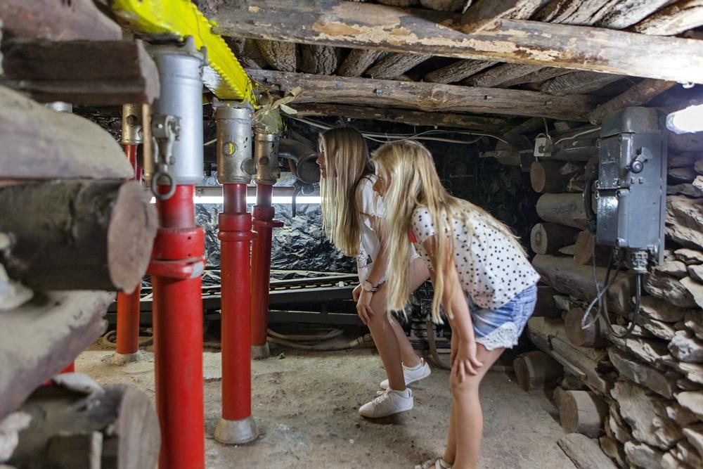 erkundung im saarländischen Bergbaumuseum