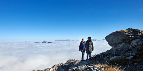 Weisshorn Nebelmeer