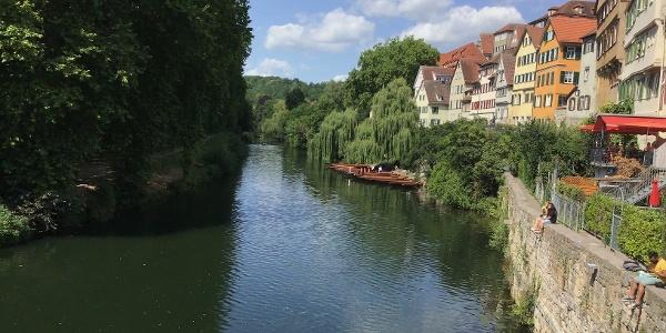 Schleifenroute - Tübingen Flusspromenade