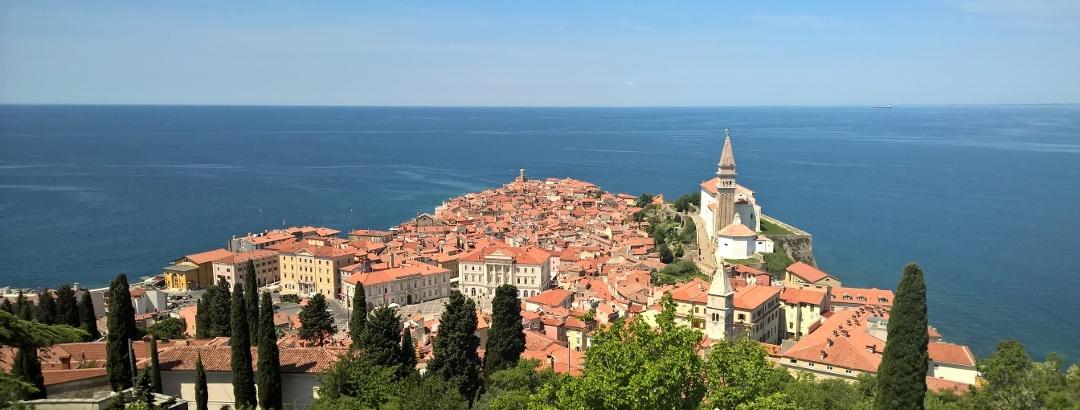 Beautiful view of Piran