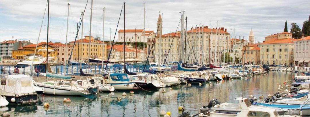 The harbor of Piran