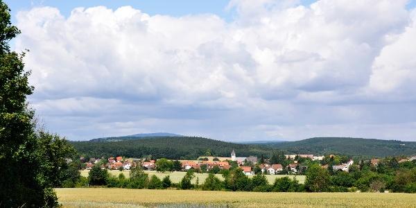 Blick auf Hettenleidelheim