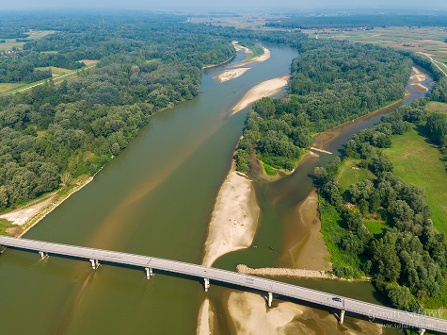 Stage S7 Koprivnica (HR) – Đurđevac (HR): Discover Regional Park Mura Drava and experience the magnificent power of Amazon of Europe