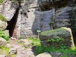 Foto An der Schwedenhöhle
