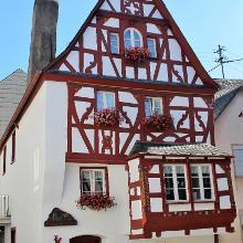 Fachwerkhaus im historischen Kern von Sankt Aldegund