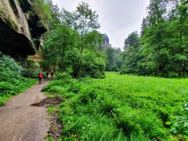 Foto Wanderweg im Polenztal