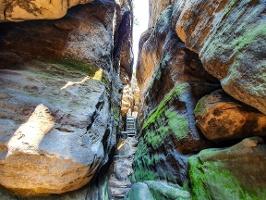 Foto Der spannende Ost-Auf- bzw. Abstieg am Gohrisch