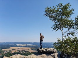 Foto Die Aussicht vom Gohrisch genießen