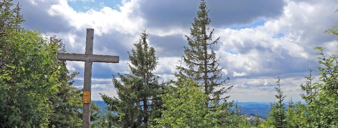 Siebensteinkopf summit cross