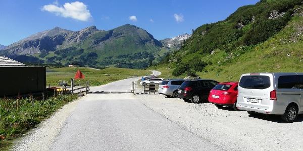 Ausgangspunkt - Parkplatz beim Hundsfeldsee