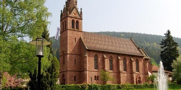 Die Kirche in Höfen an der Enz