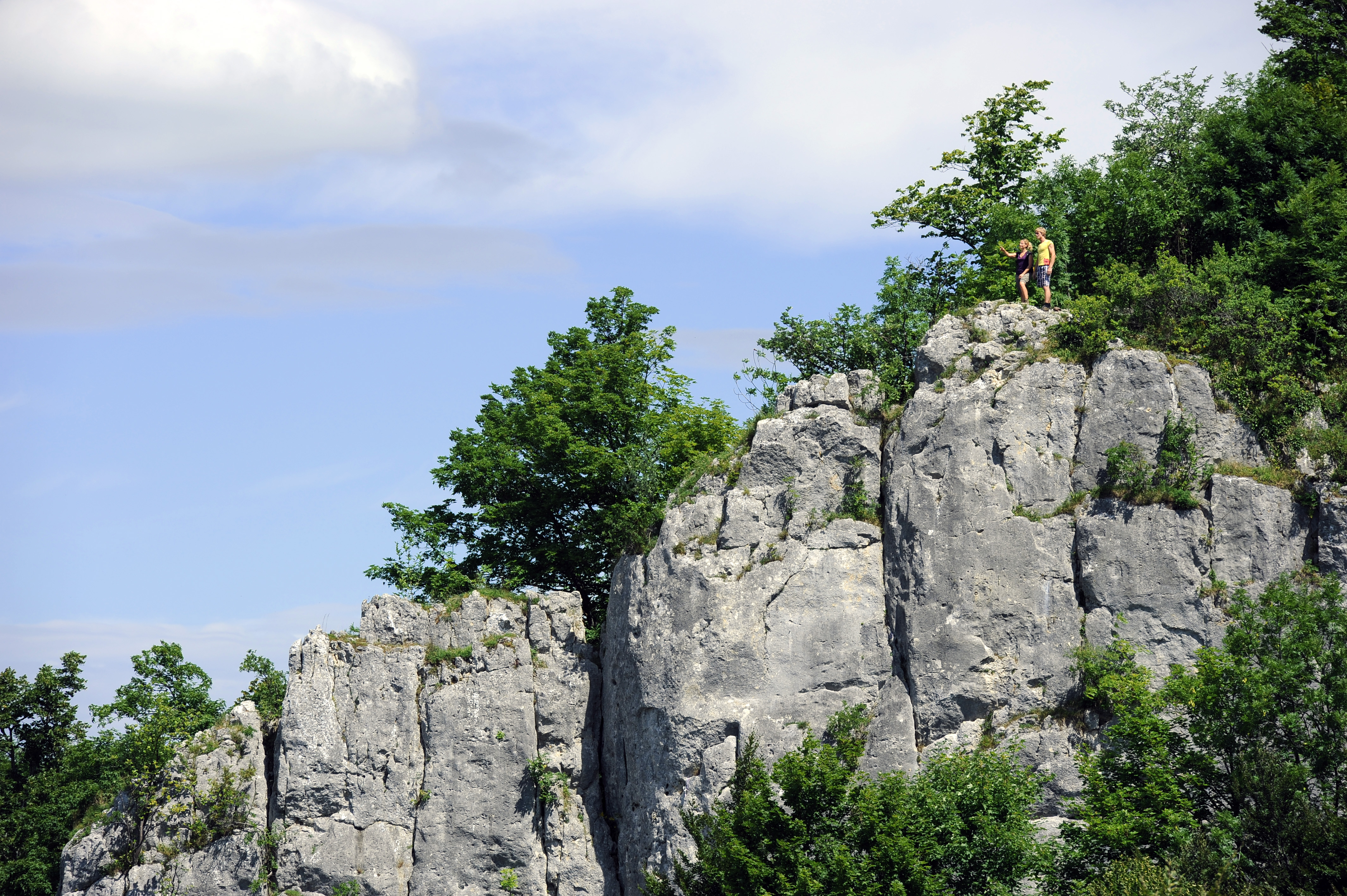 Schlossfelsen © Albstadt Tourismus