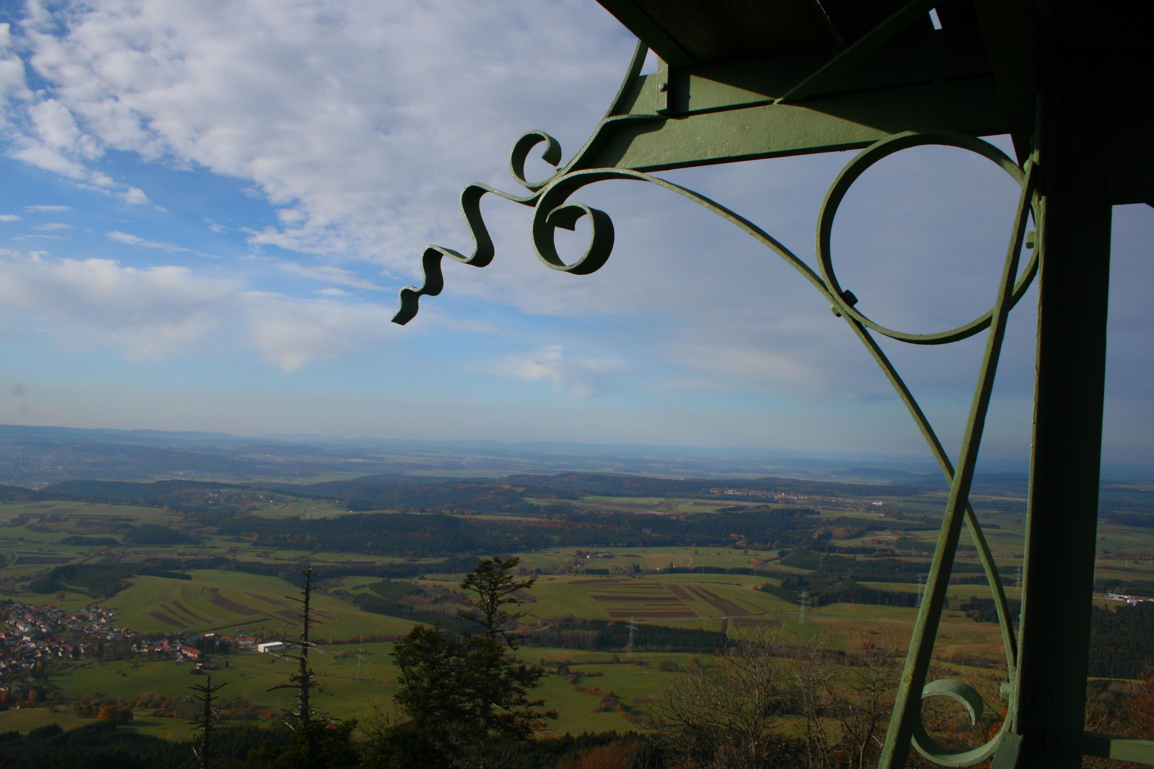 Blick vom Lembergturm