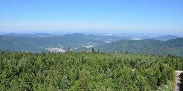 Blick vom Hohlohturm