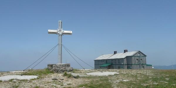 Alois-Günther-Haus am Gipfel des Stuhleck