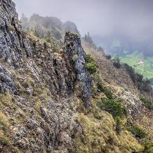Klettersteig Blickrichtung Zinken