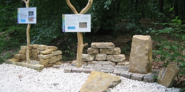 Natursteinlehrpfad Rongen