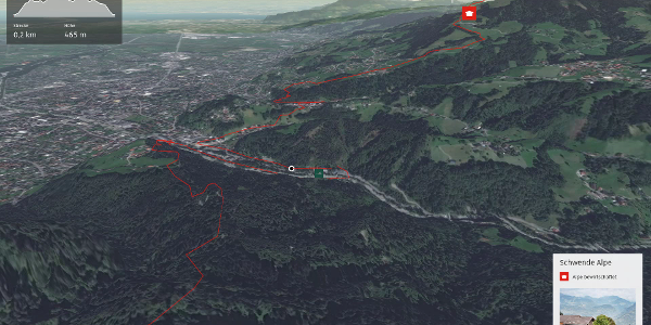 Trailrunning-Strecke in Dornbirn: Dornbirn Gipfelrunde