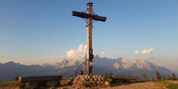 Gipfelkreuz des Rossbrands
